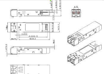 Оптические трансиверы SFP+ CWDM/DWDM
